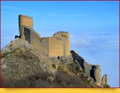 Крепость Чираг-Кала. Куба, Азербайджан