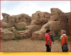 La fortaleza Kirk-Kiz. Termez, Uzbekistán