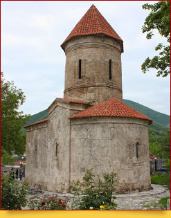 Church of Kish (1st-4th cent.). Shaki, Azerbaijan