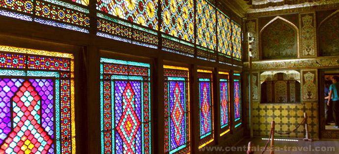 Шебеке (дворец шекинских ханов). Шеки, Азербайджан