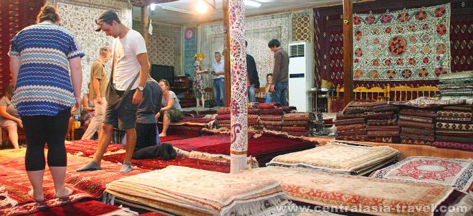 Торговые купола Бухары. Туры в Узбекистан