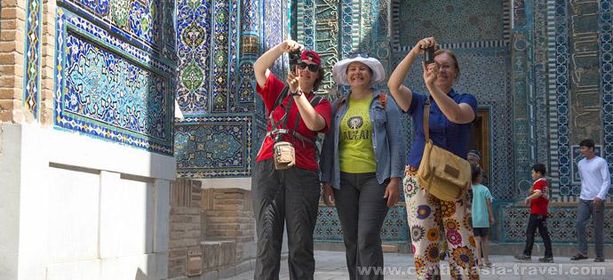 Некрополь Шахи-Зинда, Самарканд. Туры в Узбекистан