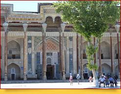 Комплекс Боло-Хауз (XVII в.). Бухара,   Узбекистан