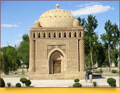 Мавзолей Саманидов (конец X в.). Бухара, Узбекистан