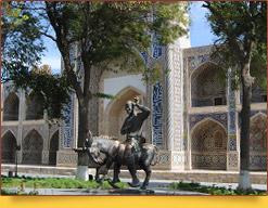 Ансамбль Надира Диван-беги (1622 г.). Бухара, Узбекистан
