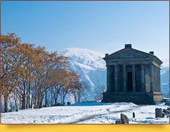 Языческий храм Гарни. Армения