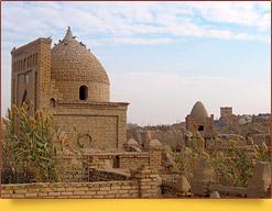 Necropolis Mizdahkan. Khorezm, Uzbekistan