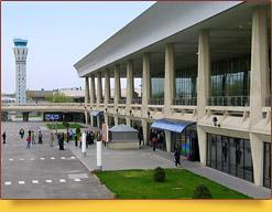 Airport in Tashkent