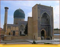 Gur-e Amir Mausoleum. Uzbekistan, Tashkent