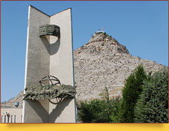 Sulaiman Mountain. Osh, Kyrgyzstan