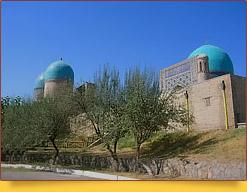 Мавзолей Дорут-Тиляват («Дом созерцания»). Шахрисабз, Узбекистан