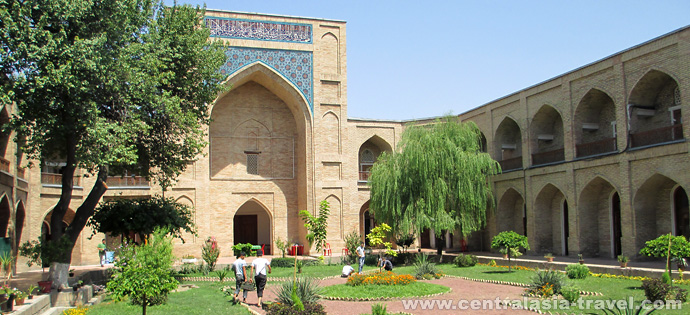 Kukeldash Madrasah. Uzbekistan, tour to uzbekistan, Gastronomic Tour, culinary tour, great silk road
