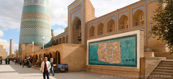 Kalta-Minor Minaret. Uzbekistan, Khiva, tour to uzbekistan, Gastronomic Tour, culinary tour, great silk road