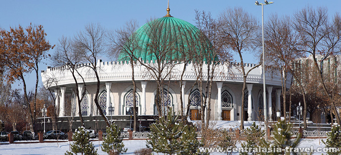 State Museum of Timurids History. Tashkent, Uzbekistan. tour to Uzbekistan, new year tour, tour for new year holidays