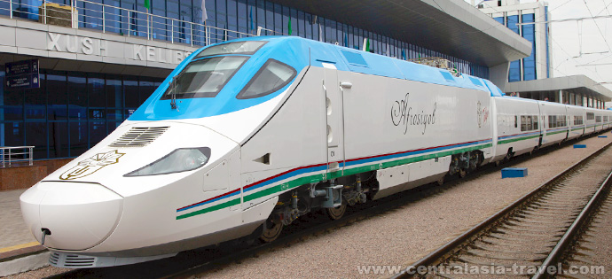 High-speed train, tour to Uzbekistan, new year tour, tour for new year holidays