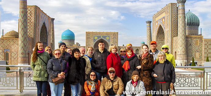 Shah-i-Zinda Necropolis. Samarkand, Uzbekistan, tour to Uzbekistan, new year tour, tour for new year holidays