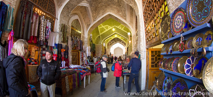 Domed Shopping Arcades. Bukhara, Uzbekistan. tour to Uzbekistan, new year tour, tour for new year holidays