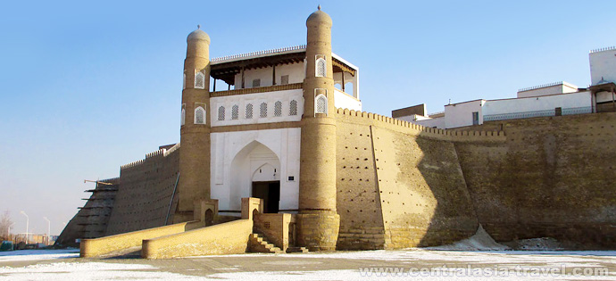 Ark fortress. Bukhara, Uzbekistan. tour to Uzbekistan, new year tour, tour for new year holidays