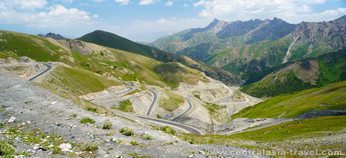 Памирскому тракт, Перевал  Талдык, тур в Кыргызстан