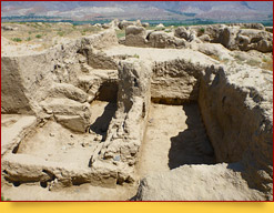 La antigua ciudad de Penjikent