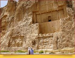 Гробницы Накше-Рустам (VI - IV вв. до н.э.). Иран