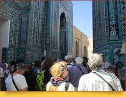 Комплекс Шахи-Зинда (XI - XV вв.). Самарканд, Убекистан