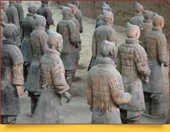 Терракотовая армия императора Цинь Шихуанди. Сиань, Китай