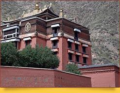Тибетский монастырь Лабранг. Провинция Ганьсу, Китай
