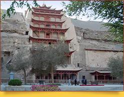 Гроты Могао - Пещера Тысячи Будд(366 г. н.э.). Дуньхуан, Китай