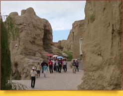 Древний город Цзяохэ(II в. до н.э.). Турфан, Китай