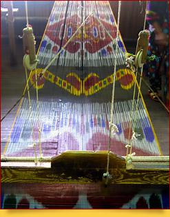 Маргиланский шелк. Изготовление  шелка и хан-атласа в Ферганской долине