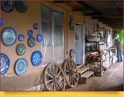 Риштанская керамика. Узбекская керамика ручной работы