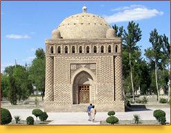 Мавзолей Саманидов (IX-X вв.). Самарканд, Узбекистан