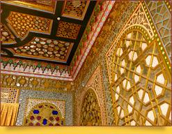 Летняя резиденция бухарского эмира (XIX в.) «Ситорай Мохи Хоса» («Дворец Луны и Звезд»). Бухары. Узбекистан