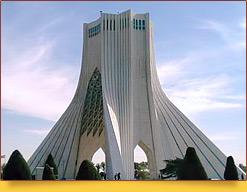 Башня Азади. Тегеран, Иран