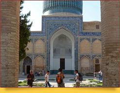 Мавзолей Гур-Эмир (XV в.). Самарканд, Узбекистан