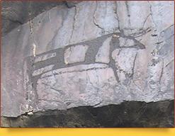 Петроглифы ущелья Сармыш-Сай. Узбекистан