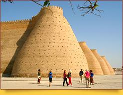 Старинная крепость Арк (VI-III вв. до н. э.). Бухара, Узбекистан