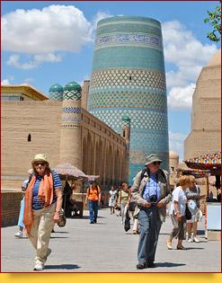 Minaret Kalta Minor (XIX c.). Khiva, Uzbekistan