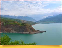 Чарвакское водохранилище. Узбекистан