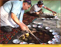 Samsa Uzbeca. La receta de preparación