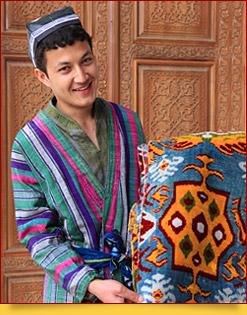 Recuerdos de Uzbekistán