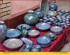 Usbekische Keramik