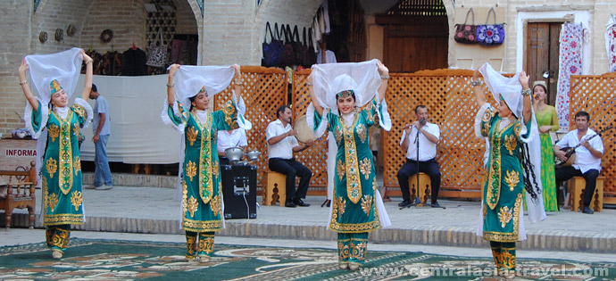 Nadir Divanbegui, Boukhara, Ouzbékistan