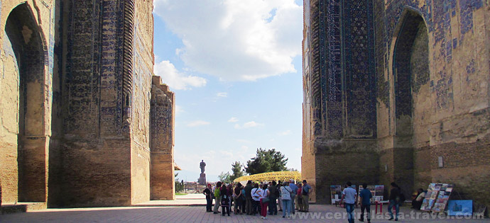 The Palace of Ak-Saray. Shakhrisabz, tour to Uzbekistan