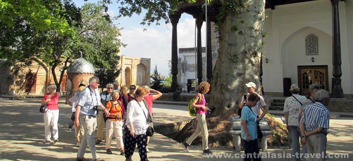 memorial complex Dorut Tillavat, Shakhrisabz, tour to Uzbekistan