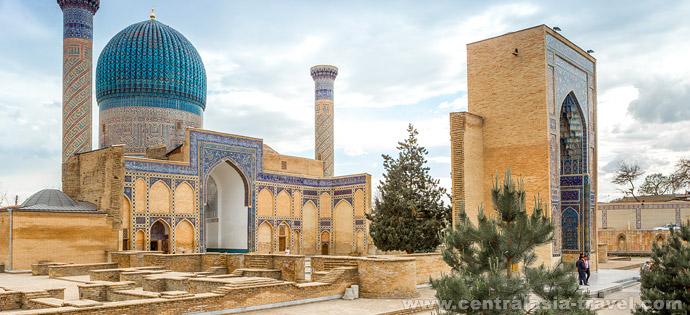 Mausoleum von Gur-e  Amir, Samarkand, Usbekistan