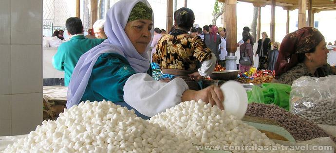 Bazar Siab. Samarcanda, Uzbekistán
