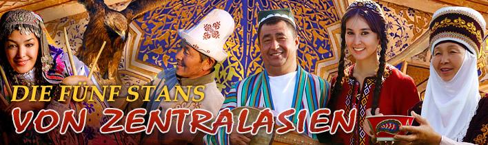 Die Fünf Stans Von Zentralasien