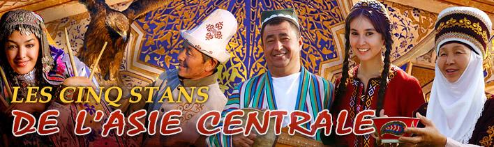 Les cinq stans de l'Asie Centrale